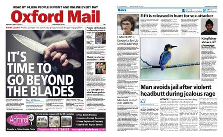 Oxford Mail – March 16, 2019