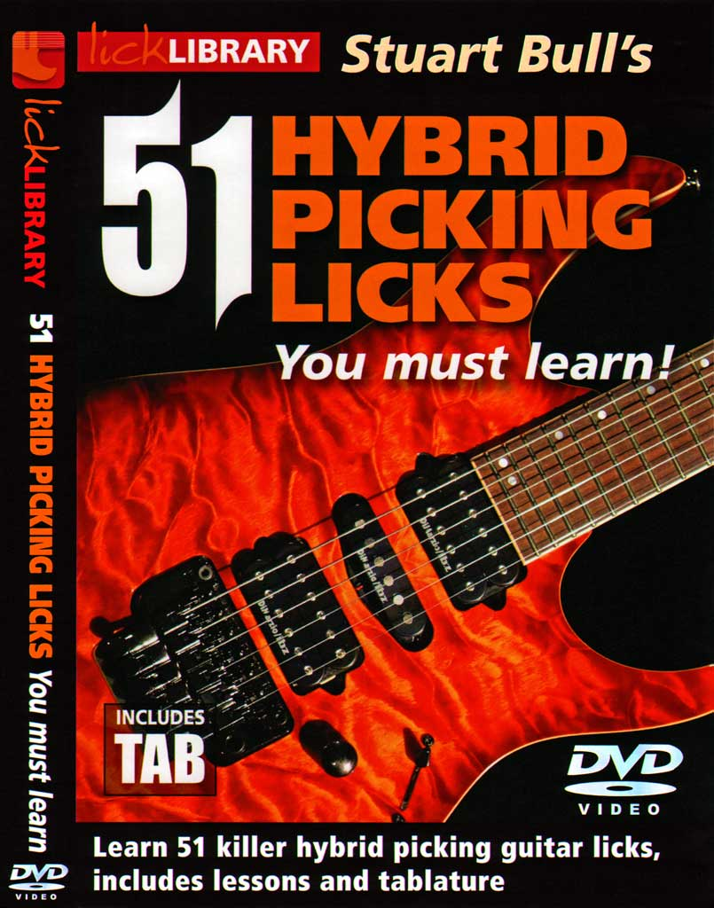 lick library stuart bull hybrid picking licks