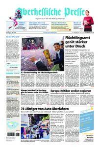 Oberhessische Presse Marburg/Ostkreis - 22. Mai 2018