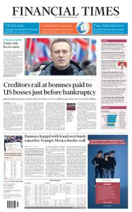 Financial Times Europe - August 21, 2020