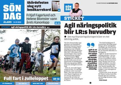 Ålandstidningen – 14 oktober 2018
