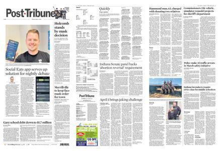 Post-Tribune – April 02, 2021
