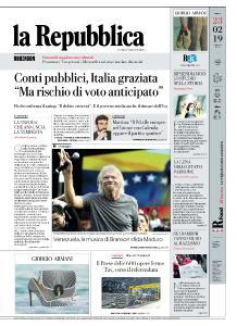 la Repubblica - 23 Febbraio 2019