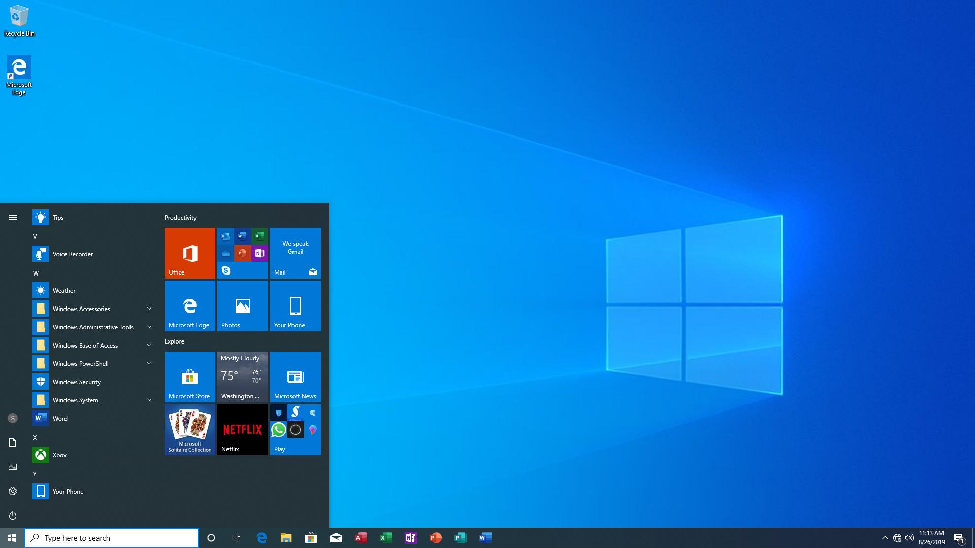 Windows 10 Pro 19H1 1903 Build 18362.295 + Office Pro Plus 2019 Integrated Multilingual