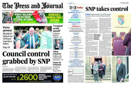 The Press and Journal Moray – June 14, 2018