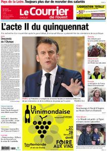 Le Courrier de l'Ouest Cholet – 26 avril 2019