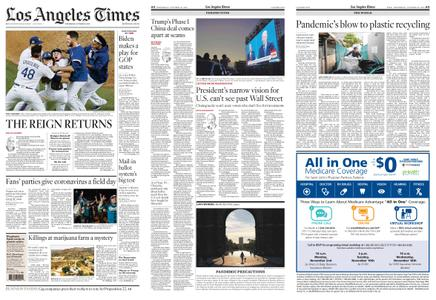 Los Angeles Times – October 28, 2020