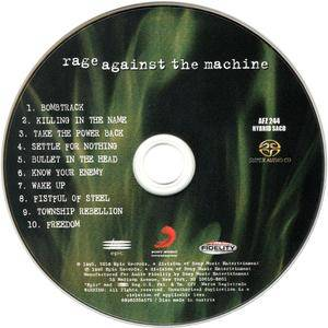 Rage Against The Machine - Rage Against The Machine (1992) [Audio Fidelity 2016]