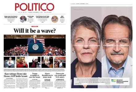 Politico – November 06, 2018