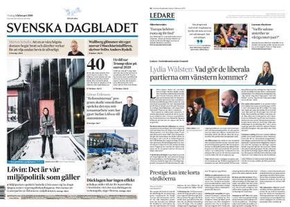 Svenska Dagbladet – 05 februari 2019