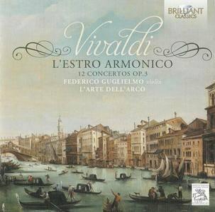 Federico Guglielmo, L'Arte Dell'Arco - Vivaldi: L'Estro Armonico, 12 Concertos Op. 3 (2014)