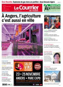 Le Courrier de l'Ouest Nord Anjou – 18 novembre 2019