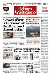Il Fatto Quotidiano - 21 agosto 2018