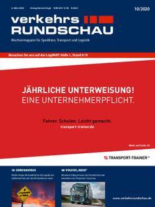 VerkehrsRundschau - 02. März 2020