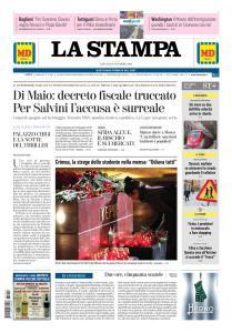 La Stampa Imperia e Sanremo - 18 Ottobre 2018