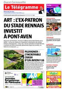 Le Télégramme Ouest Cornouaille – 20 septembre 2019