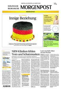 Solinger Morgenpost – 28. März 2020