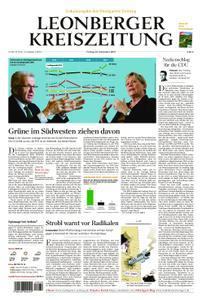 Leonberger Kreiszeitung - 20. September 2019