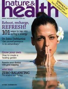 Nature & Health - October - November 2016