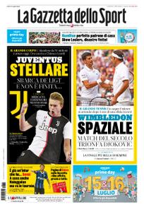 La Gazzetta dello Sport Roma – 15 luglio 2019