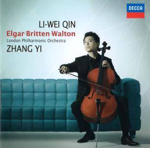 Li-Wei Qin, London PO, Zhang Yi - Edward Elgar; Benjamin Britten; William Walton: Cello Concertos (2014)