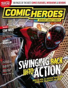 Comic Heroes UK Mag 16 Comic Heroes HQ PDF-No 25 October 2015