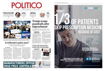 Politico – February 11, 2020