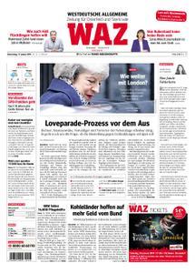 WAZ Westdeutsche Allgemeine Zeitung Oberhausen-Sterkrade - 17. Januar 2019