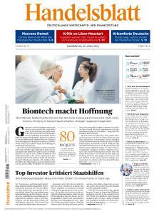 Handelsblatt - 23 April 2020