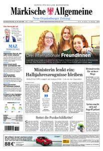 Neue Oranienburger Zeitung - 14. April 2018