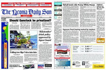The Laconia Daily Sun – September 05, 2018