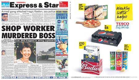 Express and Star Sandwell Edition – June 21, 2018