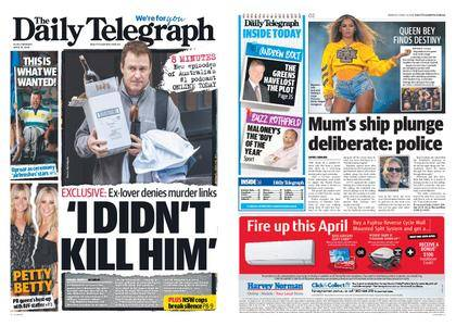 The Daily Telegraph (Sydney) – April 16, 2018