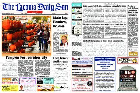 The Laconia Daily Sun – September 29, 2017