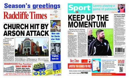 Radcliffe Times – December 27, 2018