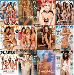 Playboy Germany - Full Year 2016 Issues Collection