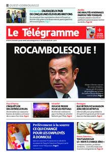 Le Télégramme Ouest Cornouaille – 03 janvier 2020