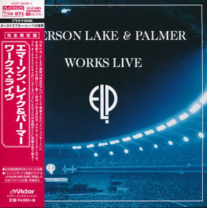 Emerson Lake & Palmer - Works Live (1993) [2014, Victor Entertainment Japan, VICP-78030-1]