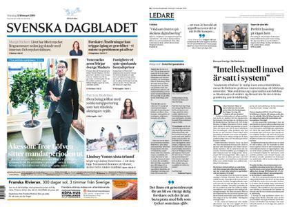 Svenska Dagbladet – 11 februari 2019