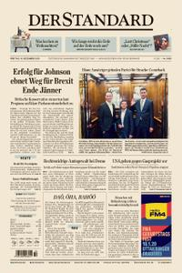 Der Standard – 13. Dezember 2019
