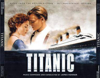 James Horner - Titanic: Music From The Motion Picture (1997) 4CD Box Set, 20th Anniversary Expanded Limited Edition 2017