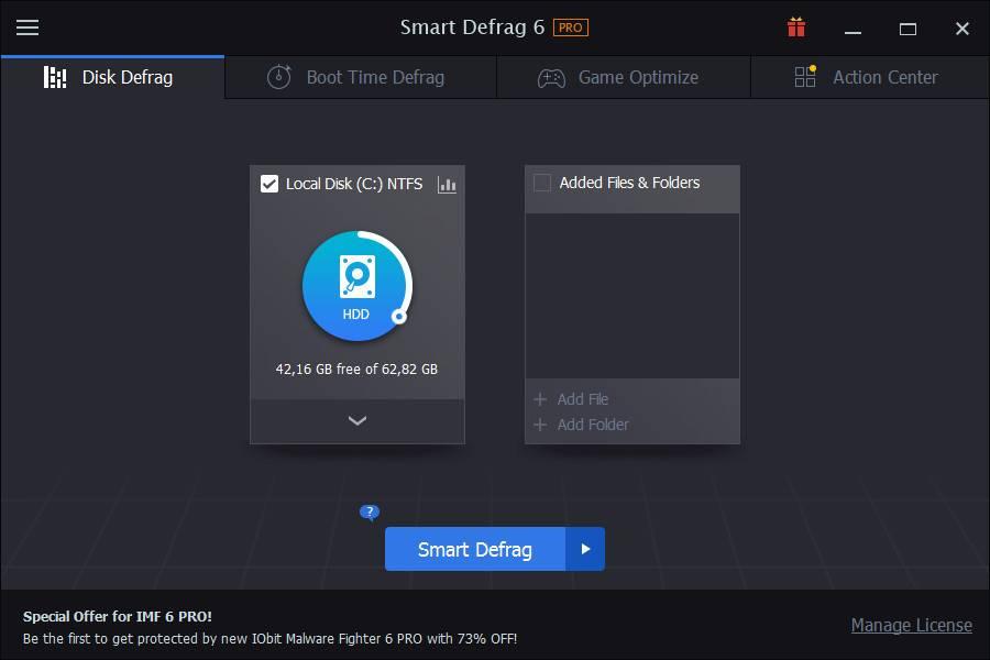 IObit Smart Defrag Pro 6.3.5.188 Multilingual + Portable