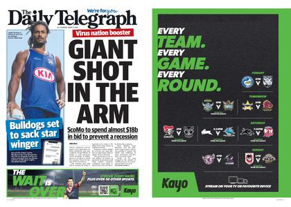 The Daily Telegraph (Sydney) – March 12, 2020