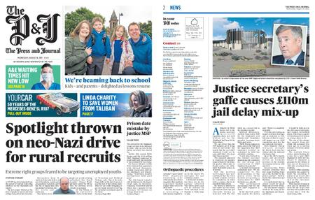 The Press and Journal Moray – August 18, 2021