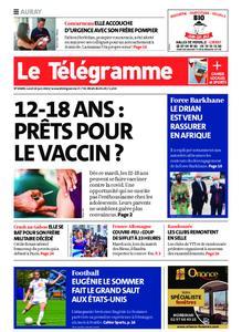 Le Télégramme Auray – 14 juin 2021