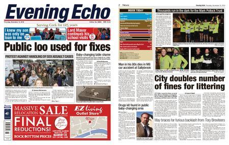 Evening Echo – November 15, 2018