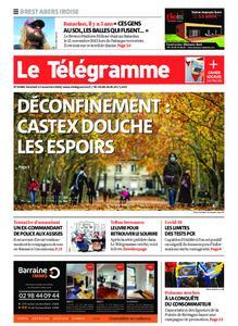 Le Télégramme Brest Abers Iroise – 13 novembre 2020