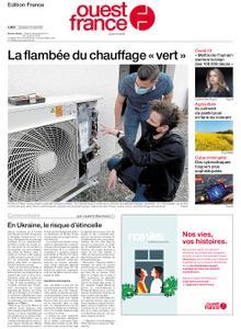 Ouest-France Édition France – 16 avril 2021