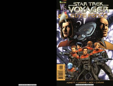 Star Trek Voyager Wildstorm 2-Elite Force July 2000