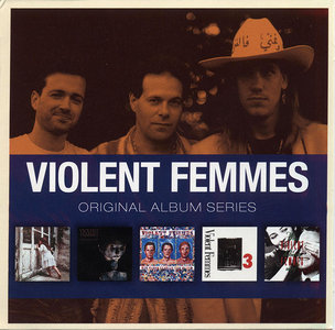 Violent Femmes - Original Album Series (2011) 5CD Box Set [Re-Up]
